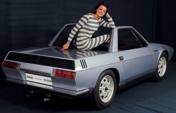 Fiat Bertone X19 Greek Club